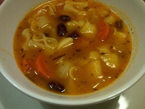 minestra fagioli e patate2