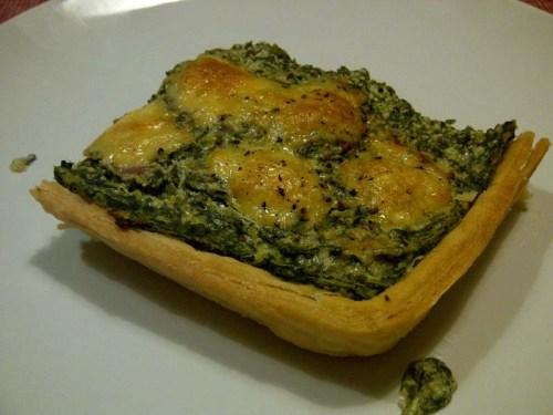 Quiche spinaci